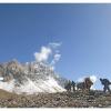 En montant au Shah Jinali pass 4140 m