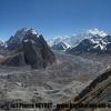 Urdok glacier et vallee de Shasksgam