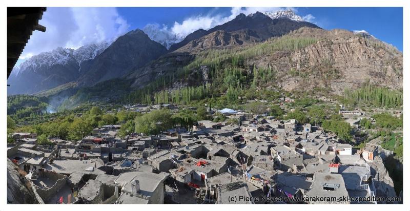 vallee de Hunza Village de Altit