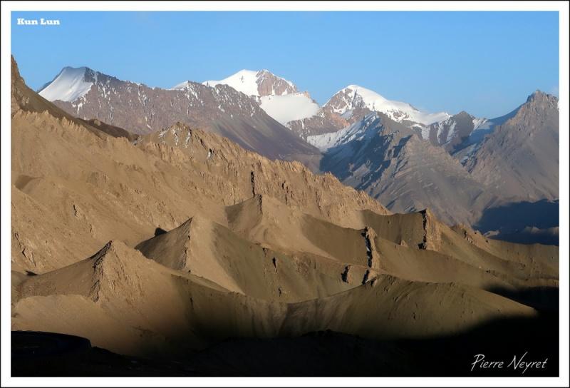 Massif du Kun Lun depuis le col de Mazar