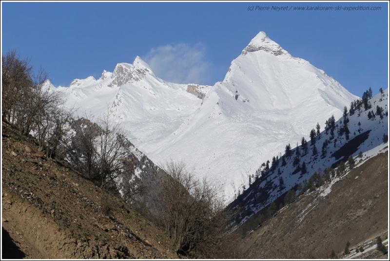 Sommet mystere pres du Nanga Parbat