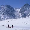 Sur le glacier de Nobande Sobande