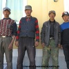 Notre equipe de chamelier, des chinois kirghizes de Yilik