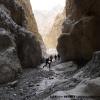 Visite du canyon de sortie du Challenge Pass