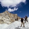Traversée du glacier de Chatiboï