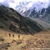 Ascension au dessus de l alpage de Kutagali
