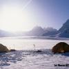 Camp sur Snow Lake, vue sur le Sim Gang glacier