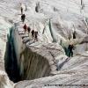Sur le glacier de Chatiboï