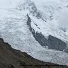 Les glaciers descendant du Nanga Parbat