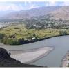 Grandes oasis de la vallee de Chitral, le long de la riviere Kunar