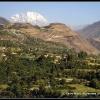 Tirich Mir au dessus de l oasis de Ayun