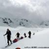 Premiere journée à skis sur Hispar