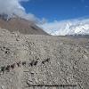 Traversée du glacier de Kunyang