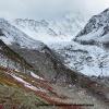 Glacier descendant du Leïla Peak