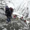Traversée du Kunyang Chhish glacier
