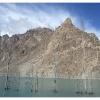 Les peupliers noyees du lac d Attabad