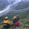 Vues sur le glacier de Raïkot