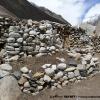 Hameau d alpage de Shuijerab 4300 m, encore désert à cette époque