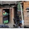 Maison de bois de tradition Kalash