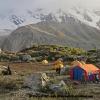 Camp pour le Buldar Peak