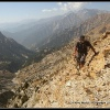 Montee escarpee au Dooni pass