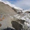 Dernier camp avant la neige