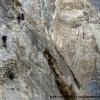 Chemins perchés au dessus des gorges de la Pamir-i-Tang