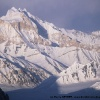Skamri Peaks (6745m) depuis le Skam la