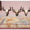 Tapis et cranes de yaks a Gulmit - Gojal