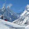Devant la tour de Muztagh 7284 m