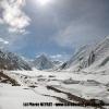 Le glacier des Abruzzes avec le GI, le Sia Kangri et Conway Saddle