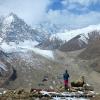 A l aplomb de la vallée de Rupal